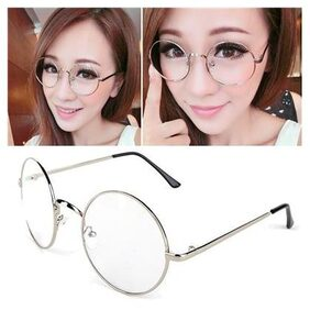 Costume Cosplay Harry Potter  Glasses Dress Up Spectacles Halloween Sliver