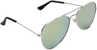 Creature Green Aviator Sunglasses ( SUN-142 )
