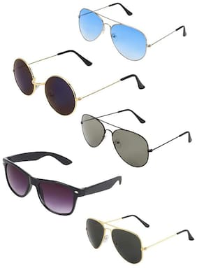 D DEBONAIR Men Regular lens Aviators