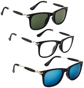 D DEBONAIR Men Wayfarers Sunglasses
