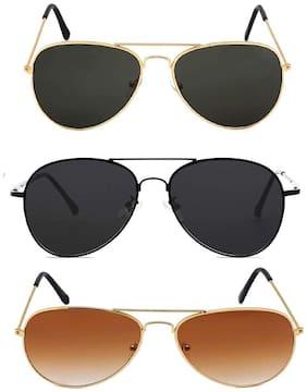 D DEBONAIR Men Aviators Sunglasses