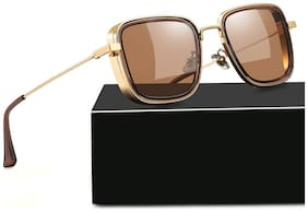 D Debonair Official Kabir Singh UV 400 Protection Brown  Sunglasses
