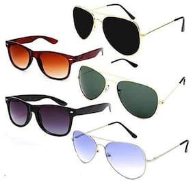 D DEBONAIR Regular lens Aviator Sunglasses for Men , 5