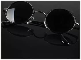 D Debonair UV Protected Round Sunglasses