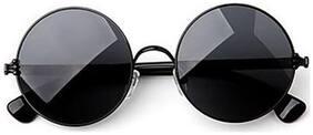 D DEBONAIR Mirrored lens Round Frame Sunglasses for Men - 1