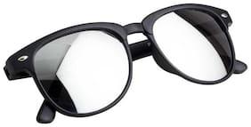 Men Wayfarers Mirrored Lens
