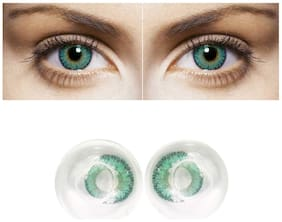 D DEBONAIR Turquoise Monthly Contact Lenses - 1 lens pack