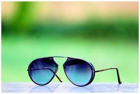 Xforia Polarized lens Round Frame Sunglasses for Women