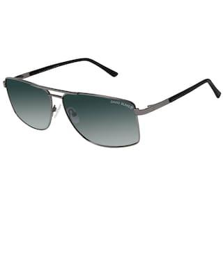 dd12929c43 Buy David Blake Green Wayfarer Large Sunglasses Online at Low Prices ...