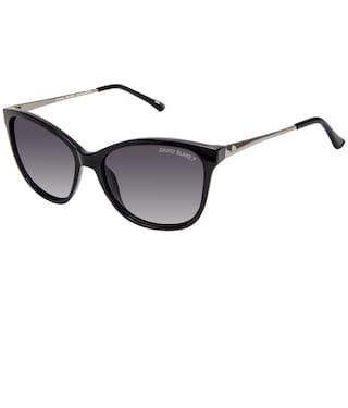 93a1698d769 David Blake Black Oversized Gradient Polarised UV Protected Sunglass