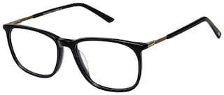 David Blake Black Wayfarer Full Rim Eyeglasses for Men - 1