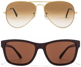 David Martin Men Aviators Sunglasses