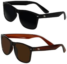 David Martin Regular lens Wayfarer Sunglasses for Men