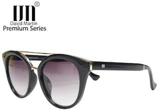 0389f1063 David Martin Black   Grey Gradient (Premium Series) Cat-Eye Sunglass
