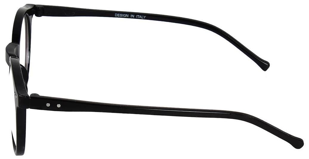 6676fdb025 Buy David Martin Anti-Glare Full Rim Round Eyeglasses Frame-Black Online at  Low Prices in India - Paytmmall.com
