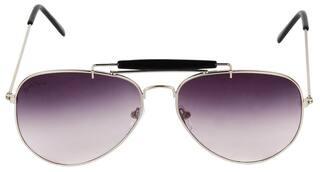 David Martin Purple Aviator Sunglass