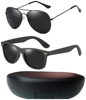 Davidson Anti glare lens Aviator Sunglasses for Men , 3