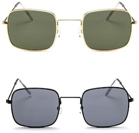 DAVIDSON Pack of 2 Kabir Singh Style sunglasses in price of 1 for Men