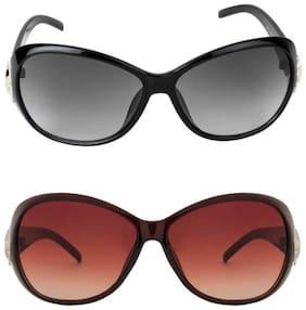 DAVIDSON Regular lens Wayfarer Sunglasses for Women