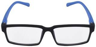 Davidson Blue Wayfarer Full Rim Eyeglasses for Men