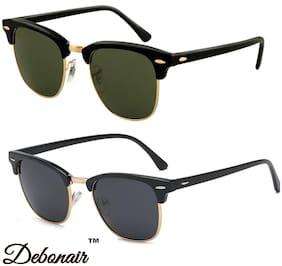 D DEBONAIR Men Wayfarers Sunglasses