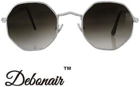 Debonair Geometric Retro Octagonal UV Protected Sunglasses| Stylish, Trendy, Comfortable,Unisex