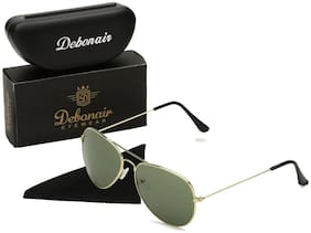 D DEBONAIR Polarized lens Aviator Sunglasses for Men , 1