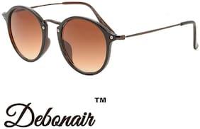 D DEBONAIR Polarized lens Round Frame Sunglasses for Men - 1