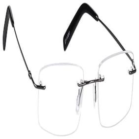 Eddy's Eyewear Rimless Square Titanium
