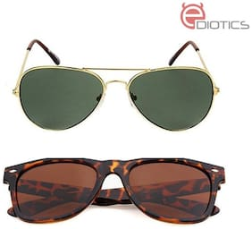 Ediotics Men Wayfarers Sunglasses
