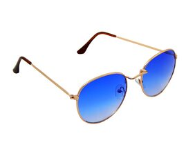 Els Men & Women Unisex Retro Round Sunglass