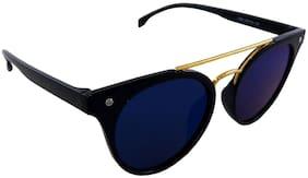 Els Blue Heart & Round Medium Sunglasses