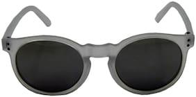 Els White Round Eyeglasses for Kid's