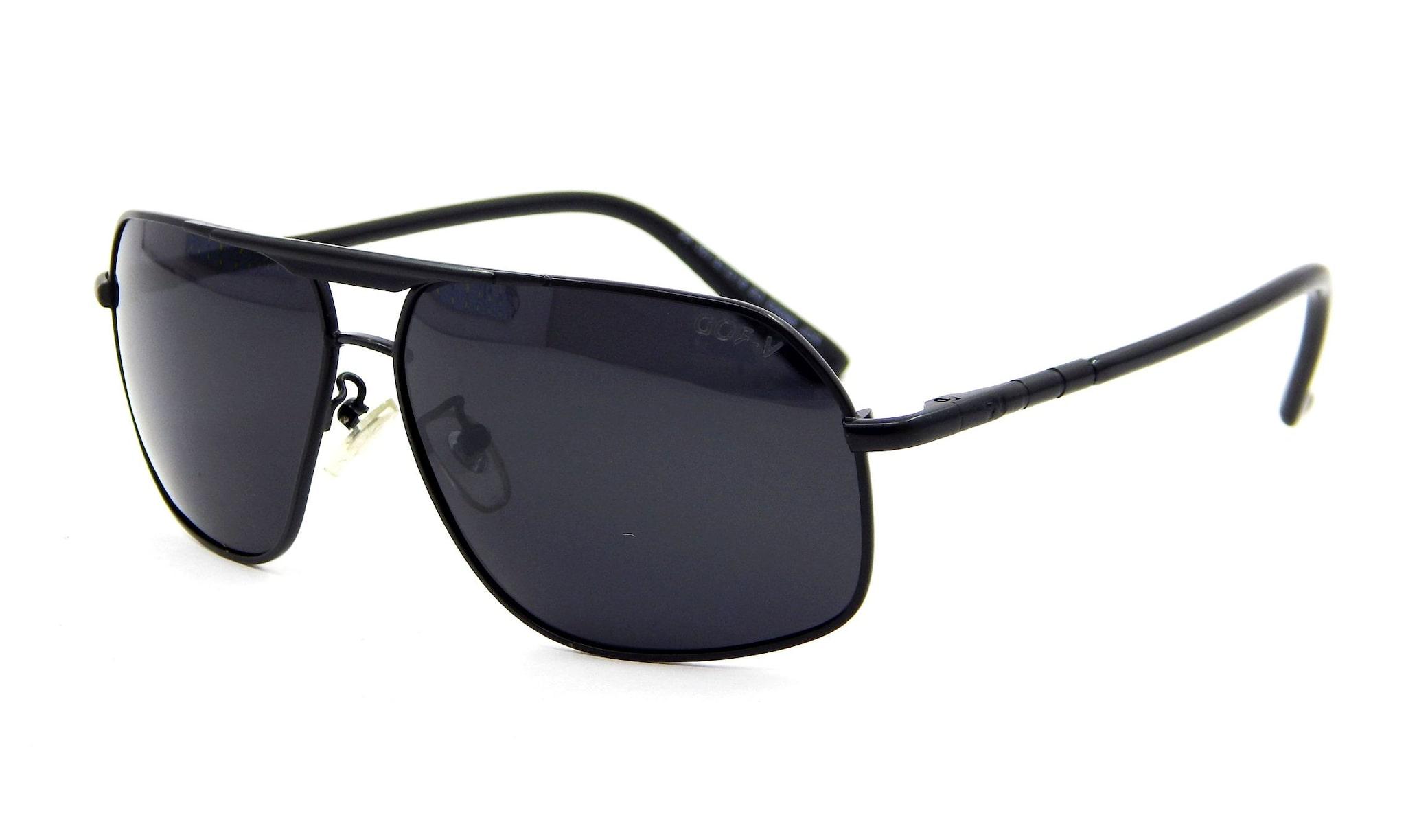 Buy Els Black Rectangular Frames Medium Sunglasses Online At Low