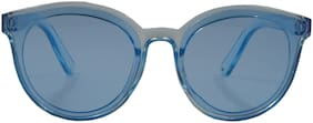Els Blue Wayfarer Eyeglasses for Kid's