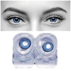 Ivonne Blue Monthly Contact Lenses - 1 lens pack
