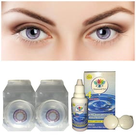 Ivonne Purple Monthly Contact Lenses - 1 lens pack