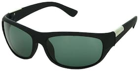 Fashno Black Sport Round Sunglass(Medium size)