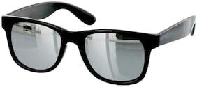 Fashno Mirrored lens Wayfarer Sunglasses for Men , 1
