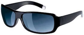 Fastrack Black Rectangle Sunglass