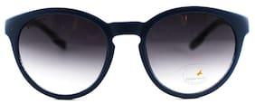 Fastrack Black Round Sunglasses ( P376BK4 )