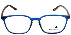 Fastrack Blue Rectangle Full Rim Eyeglasses for Men