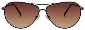 Fastrack Brown Aviators Sunglasses