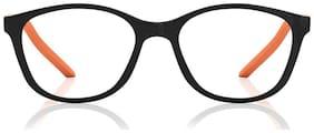 Fastrack Black Wayfarer Full Rim Eyeglasses for Women