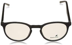 Fastrack Black Round Full Rim Eyeglasses for Men - 1
