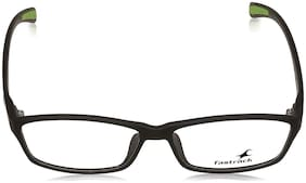 Fastrack Black Square Full Rim Eyeglasses for Men - 1