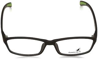 Fastrack Black Square Full Rim Eyeglasses for Men - 1