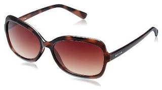 Fastrack P183br1f Brown Bug Eye Sunglasses
