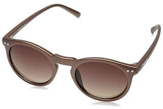 4117e7fa1f Buy FASTRACK  P383BR7  BROWN ROUND SUNGLASSES Online at Low Prices ...