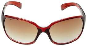 Fastrack Polarized lens Sports Frame Sunglasses for Women